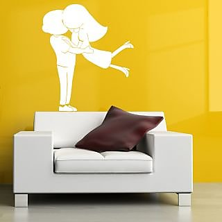 Decor Villa Kiss Me Wall Decal & Sticker