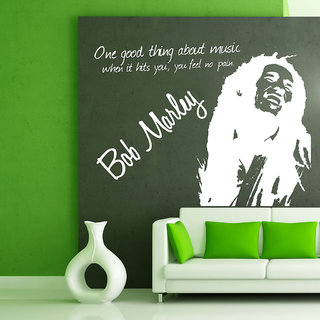 Decor Villa Bob Marley Wall Decal & Sticker