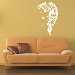 Decor Villa Swirl Girl Wall Decal & Sticker