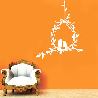 Decor Villa Bird With Together Wall Decal & Sticker