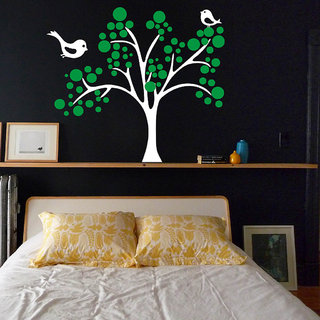Decor Villa Bird Home Wall Decal & Sticker