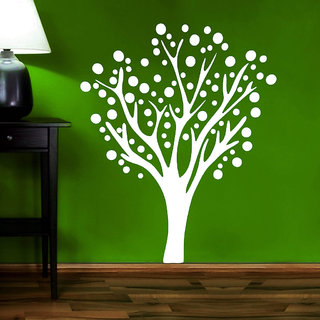 Decor Villa Side Tree Wall Decal & Sticker