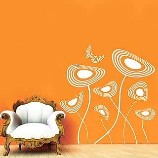 Decor Villa Wonderful Flower Wall Decal & Sticker