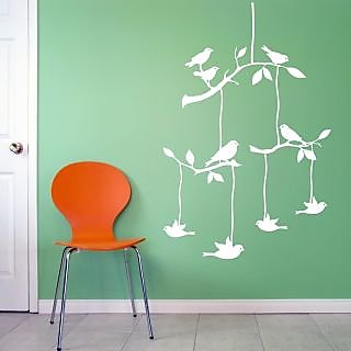 Decor Villa Birds Design Wall Decal & Sticker