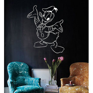 Decor Villa Daonald Duck Wall Decal & Sticker