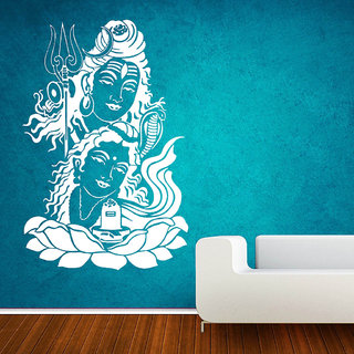 Decor Villa Jai Shiv And Parvati Wall Decal & Sticker