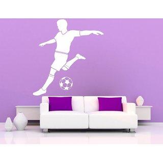 Decor Villa Football Player Wall Decal & Sticker
