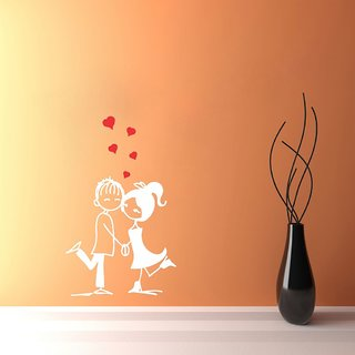 Decor Villa Love Couple Wall Decal & Sticker
