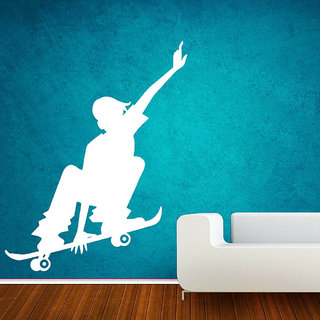 Decor Villa Skateboarder Wall Decal & Sticker