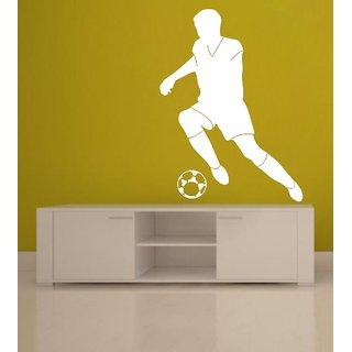 Decor Villa Playing Football Wall Decal & Sticker