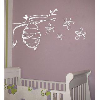 Decor Villa Braches Bee Wall Decal & Sticker