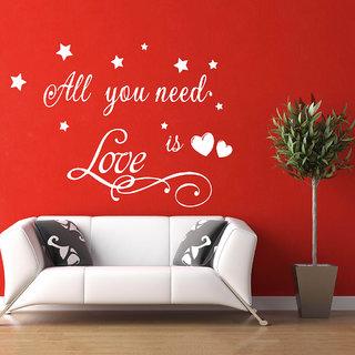 Decor Villa All Love Wall Decal & Sticker