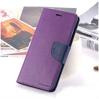 mercury Diary Wallet Flip Cover for Micromax Canvas HD A116