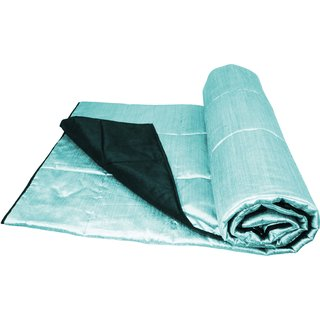 Reversible Diamond Quilting Sly Blue & Turquise Quilt (230 x 250 cms)