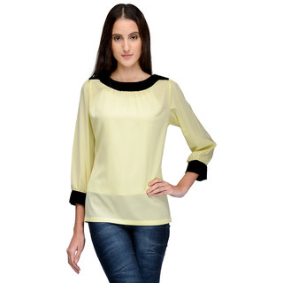 Tunic Nation Women's Solid Round Neck Top
