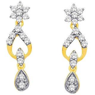 Nakshatra Diamond Earrings DDE02171SI-JK18Y