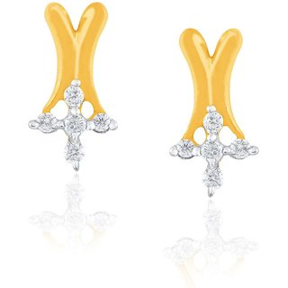 Asmi Diamond Earrings DDE01894SI-JK18Y