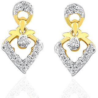 Beautiful sparkling diamond  Earrings IDE00486SI-JK18Y