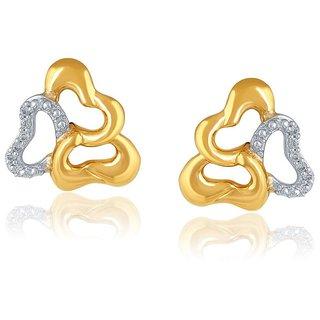 Nirvana Diamond Earrings PE25548SI-JK18Y