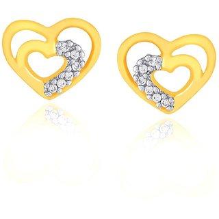 Asmi Diamond Earrings ADE00328SI-JK18Y