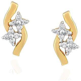 Asmi Diamond Earrings PRA1E3314SI-JK18Y