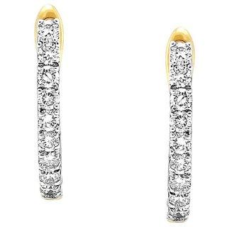 Gili Diamond Earrings DDE02047SI-JK18Y