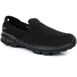 Skechers Go Walk 3  Men's Black Sneakers Shoes
