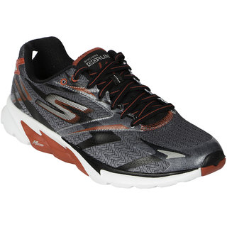 Skechers Go Run 4 Men's Black,Red Sport Shoes