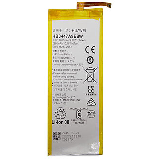 Snaptic Original Li Ion Polymer Battery HB3447A9EBW for Huawei Mobile Phones with Replacement Warranty
