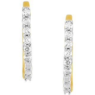 Gili Diamond Earrings EE341SI-JK18Y