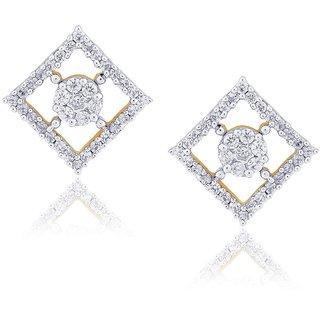 Nirvana Diamond Earrings IE858SI-JK18Y