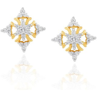 Nakshatra Diamond Earrings NERC812SI-JK18Y
