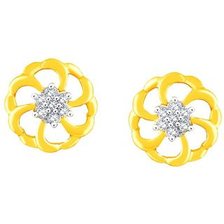 Nakshatra Diamond Earrings PE10720SI-JK18Y