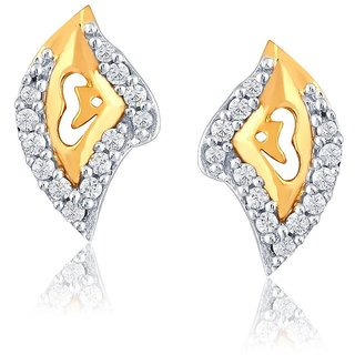 Nirvana Diamond Earrings PE13028SI-JK18Y