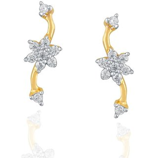 Nakshatra Diamond Earrings PE21235SI-JK18Y