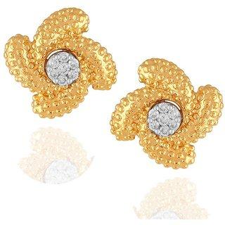 Maya Diamond Diamond Earrings PE23222SI-JK18Y