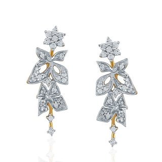 Nakshatra Diamond Earrings ABE047SI-JK18Y
