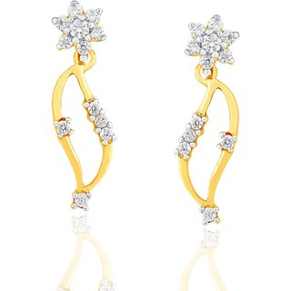 Nakshatra Diamond Earrings DDE00237SI-JK18Y