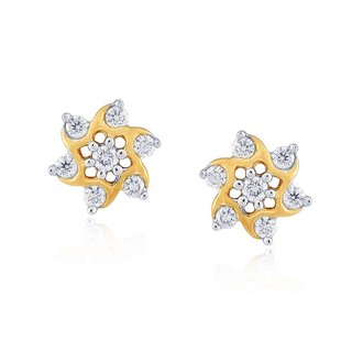 Nakshatra Diamond Earrings NERA034BSI-JK18Y