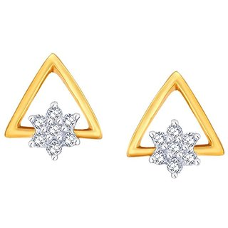 Nakshatra Diamond Earrings DDE02334SI-JK18Y