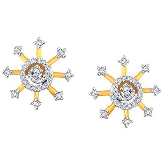 Gili Diamond Earrings AAEP505SI-JK18Y