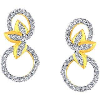 Gili Diamond Earrings BAEP105SI-JK18Y
