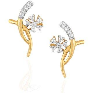 Asmi Diamond Earrings PE18763SI-JK18Y