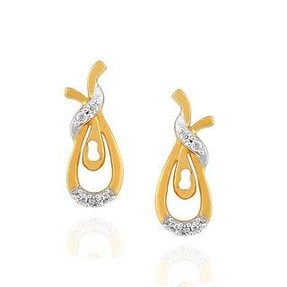 Asmi Diamond Earrings PE19893SI-JK18Y