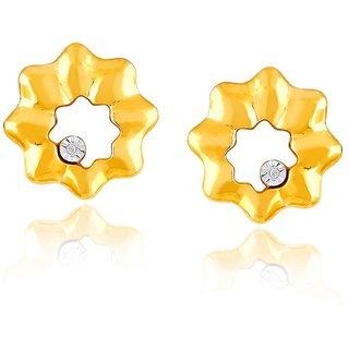 Nirvana Diamond Earrings PE24718SI-JK18Y