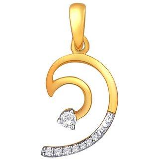Maya Diamond Diamond Pendant PRA1P2933SI-JK18Y