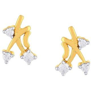 Diya Diamond Earrings CE001SI-JK18Y