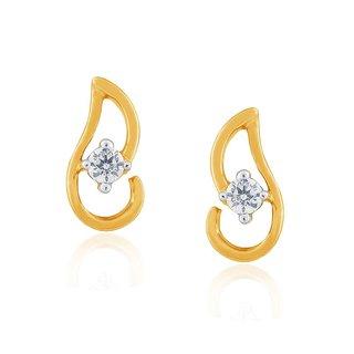 Me-Solitaire Diamond Earrings DE380SI-JK18Y