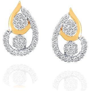 Nirvana Diamond Earrings RDE00028SI-JK18Y
