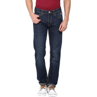Flying Machine Men's Blue Regular Fit Jeans